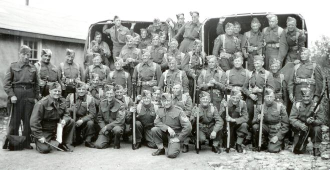 No. 23 Company, Veterans Guard of Canada. Lieut. Colin