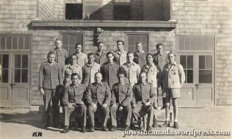 PoW Picture Postcard from Camp 132, Medicine Hat. Author's Collection.