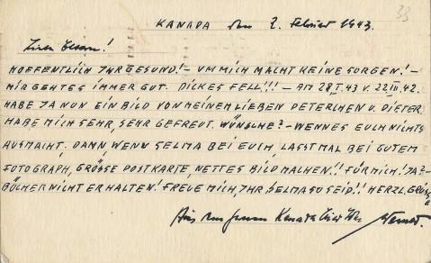 Bomeyer, Werner - 133 - Postcard Reverse copy