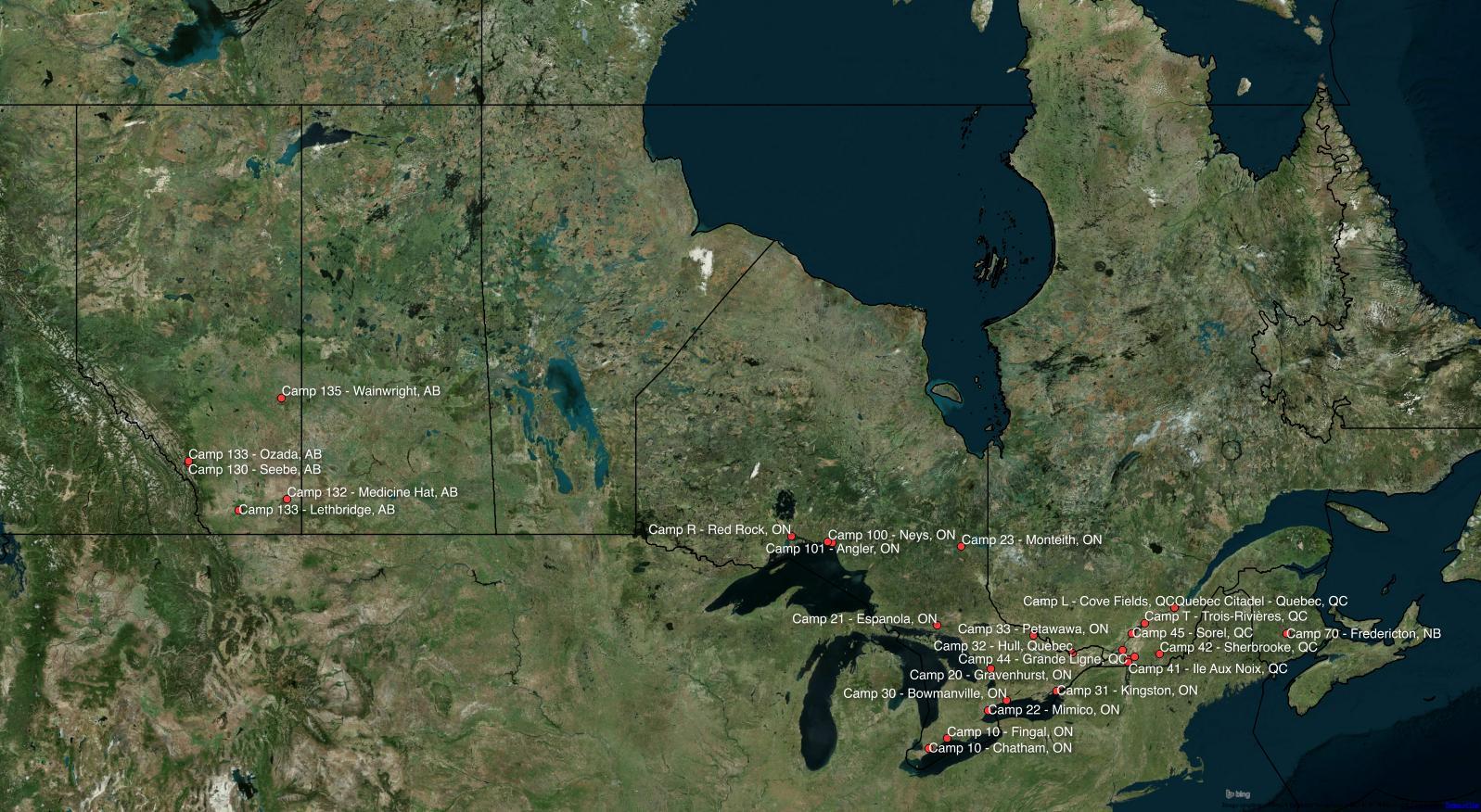 Mapping Canada's Internment Camps | Michael O'Hagan